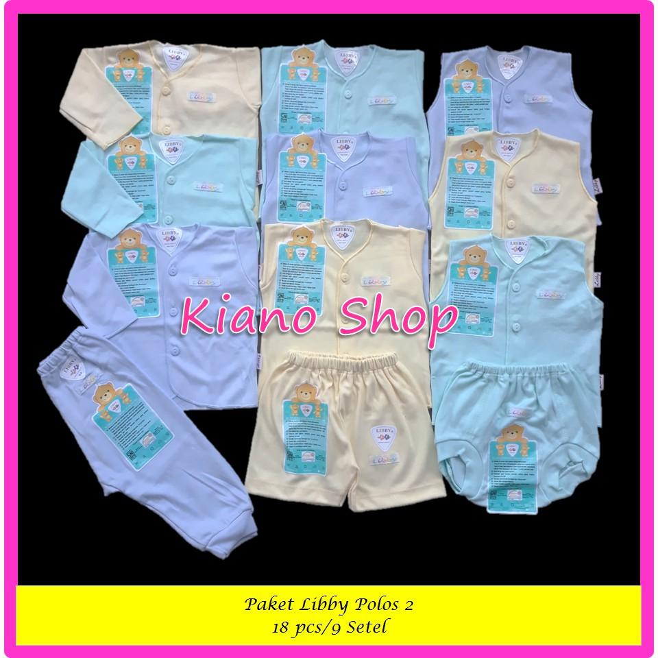 Setelan Baju Bayi Pendek Piyo Animal 3 Stel Shopee Indonesia Panjang 3stel Newborn Celana Diapers Polos Berwarna Spw4
