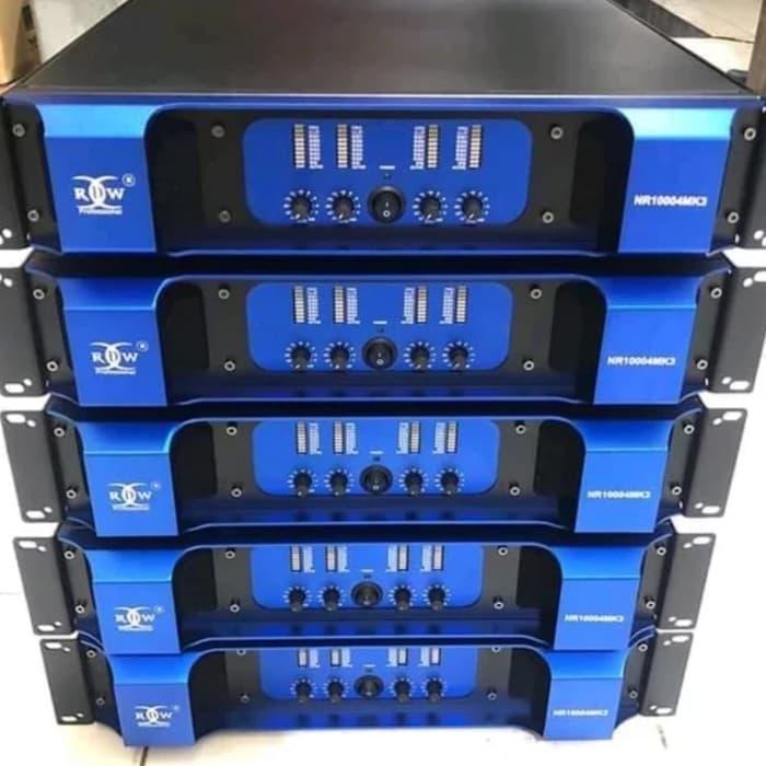 POWER 4 CHANNEL RDW NR-10004MK3 ORIGINAL