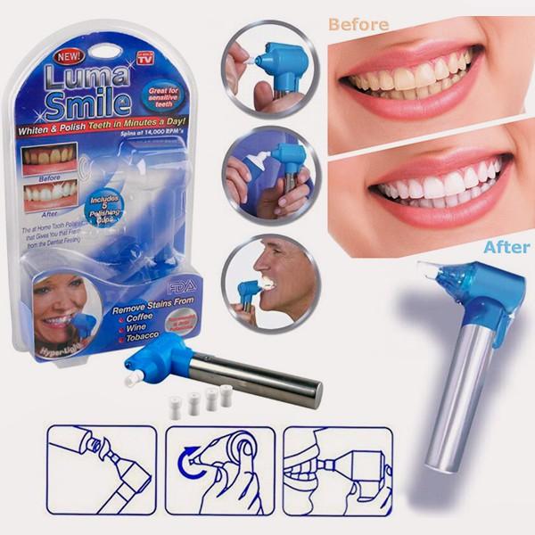 Peralatan Sikat Gigi Lampu Led Pemutih Gigi Penghilang Karang