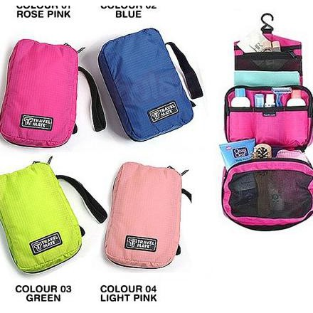 Travel Mate Toiletries Pouch (Tas Penyimpanan Multifungsi / Organizer) Ter