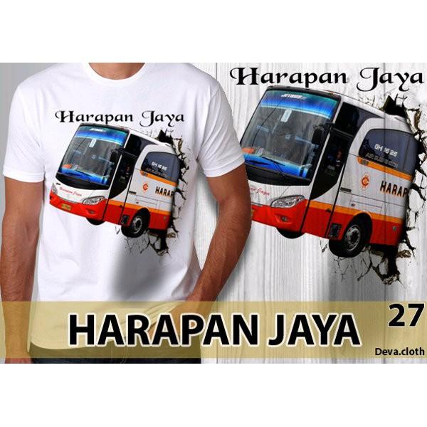 Kaos Bis Harapan Jaya Bis Mania Hj 06