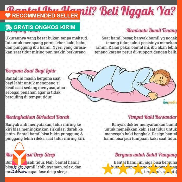 Sale Maternitty Pillow Bantal Hamil Shopee Indonesia