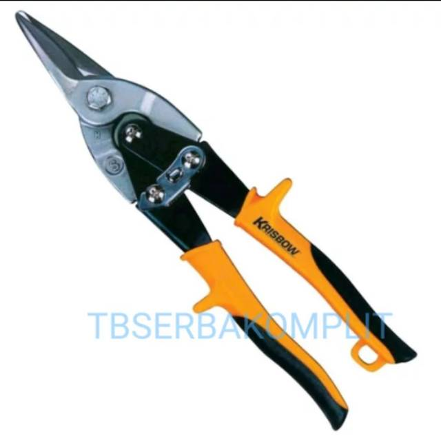 Gunting Baja Ringan Seng Krisbow Kw0102119 Heavy Duty Aviation Straight Cutting Snip Pelat Kw01 2119 Shopee Indonesia