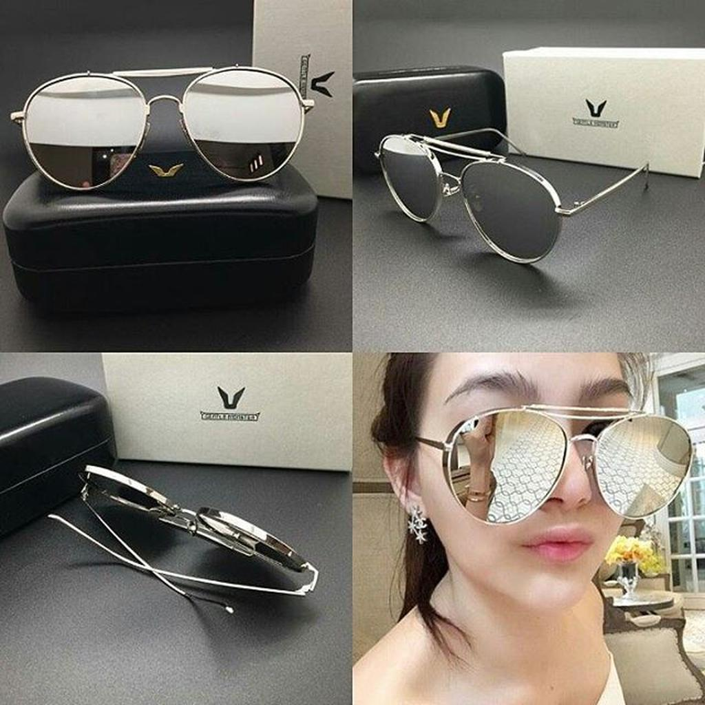 TELARIS Kacamata Gentle Monster 732 Silver Kacamata Wanita Murah Fashion  Gaya MURAH  be9baf5855