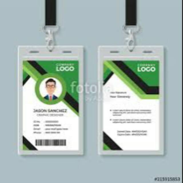 Jasa Design Id Card Include Logo Shopee Indonesia