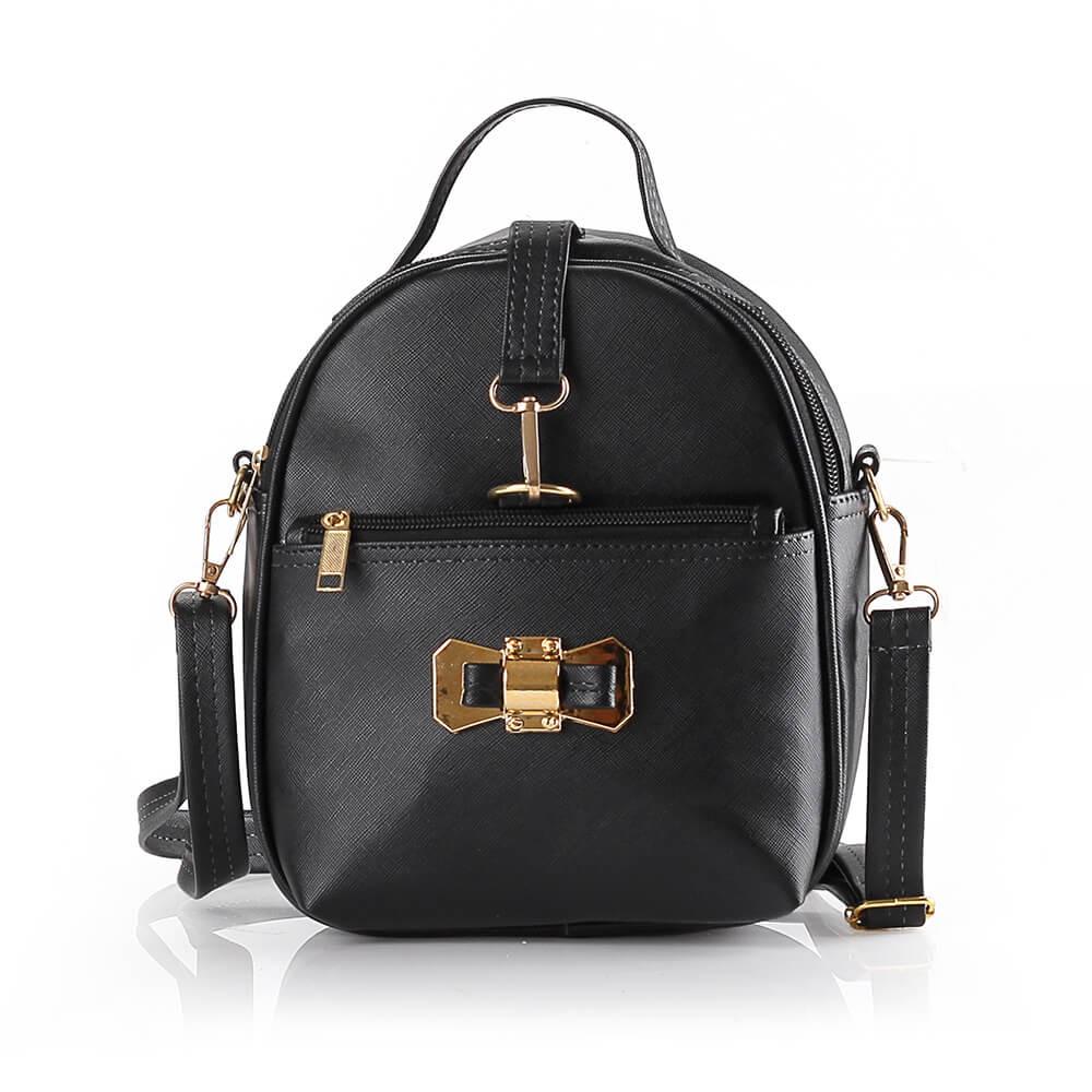 Tas Ransel   Backpack Kasual Wanita hitam Blackkelly LRO 749 ori murah 864a228071