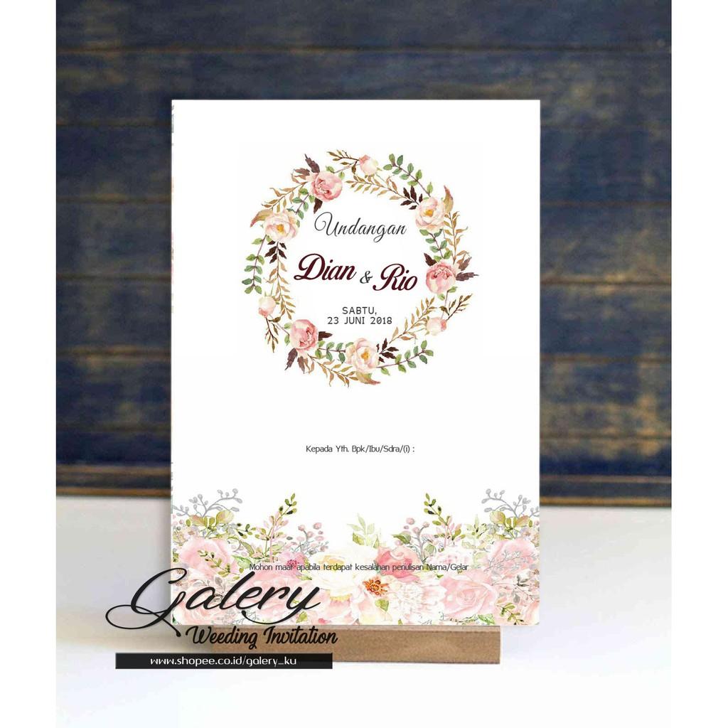 20+ Koleski Terbaru Lucu Desain Kartu Ucapan Pernikahan ...