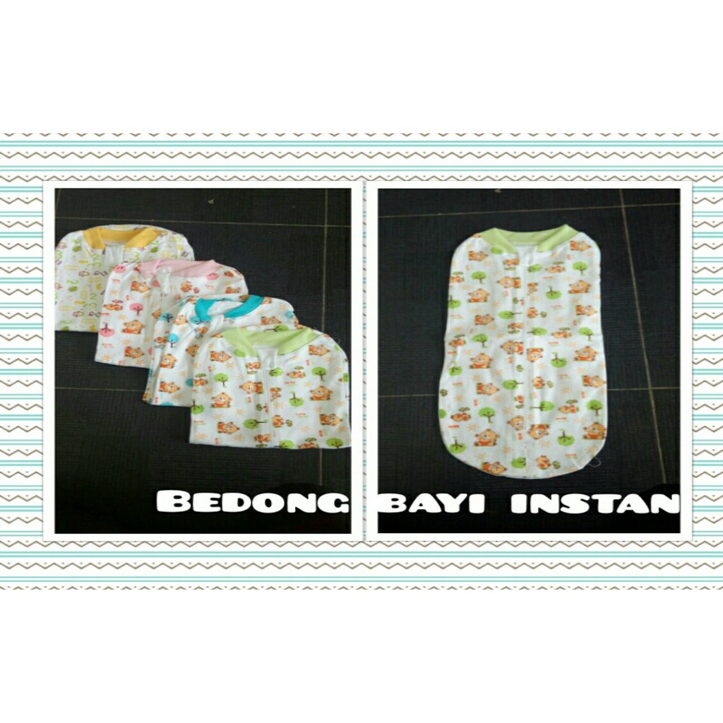 Baby Leon Bedong Bayi Instan New Born 2pcs 100 Cotton Berkerah Bc Topi 102 Mix Colour Random Motif Shopee Indonesia