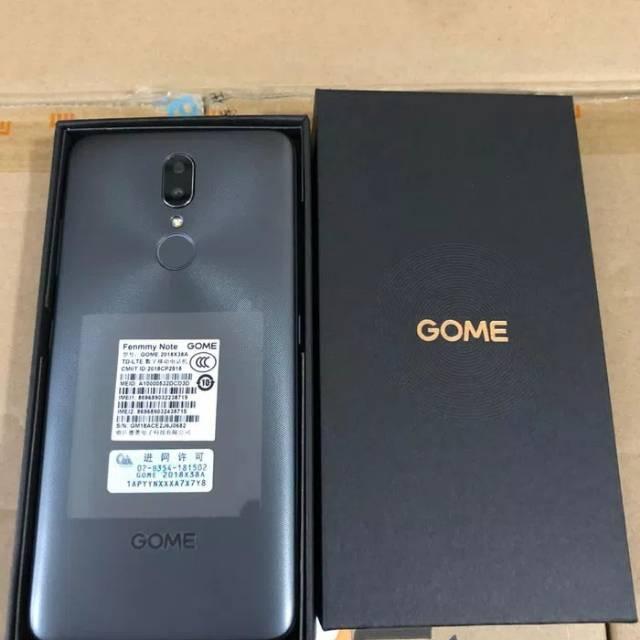 HP GOME FENMMY NOTE (FENMMY NOTE RAM 4/64GB) 4/64GB - GOLD & GREY