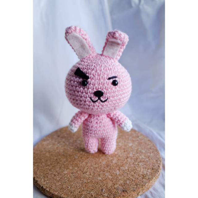 Cooky BT21 Crochet Pattern | ARMY's Amino | 640x640