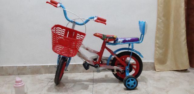Sepeda Anak Morison MS8806 EVA Girl CTB 2-4 Tahun 12 Inci