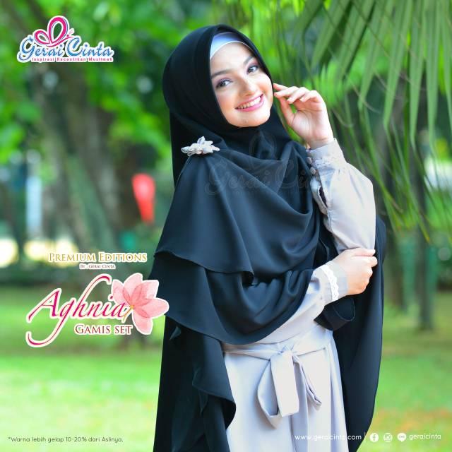 Sherine Navy By Gerai Cinta Shopee Indonesia