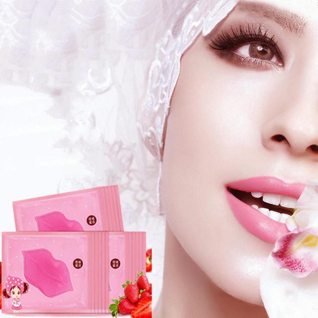 Bioaqua Collagen Nourish Lips Mask Masker Bibir Pink 2pc Shopee Indonesia