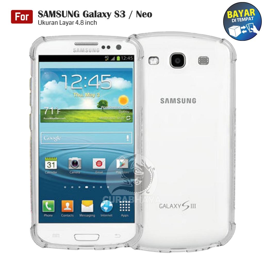 Shockcase Samsung Galaxy S3 / Neo / i9300 / Duos | Anti Crack Premium Softcase Cushion ShockProof