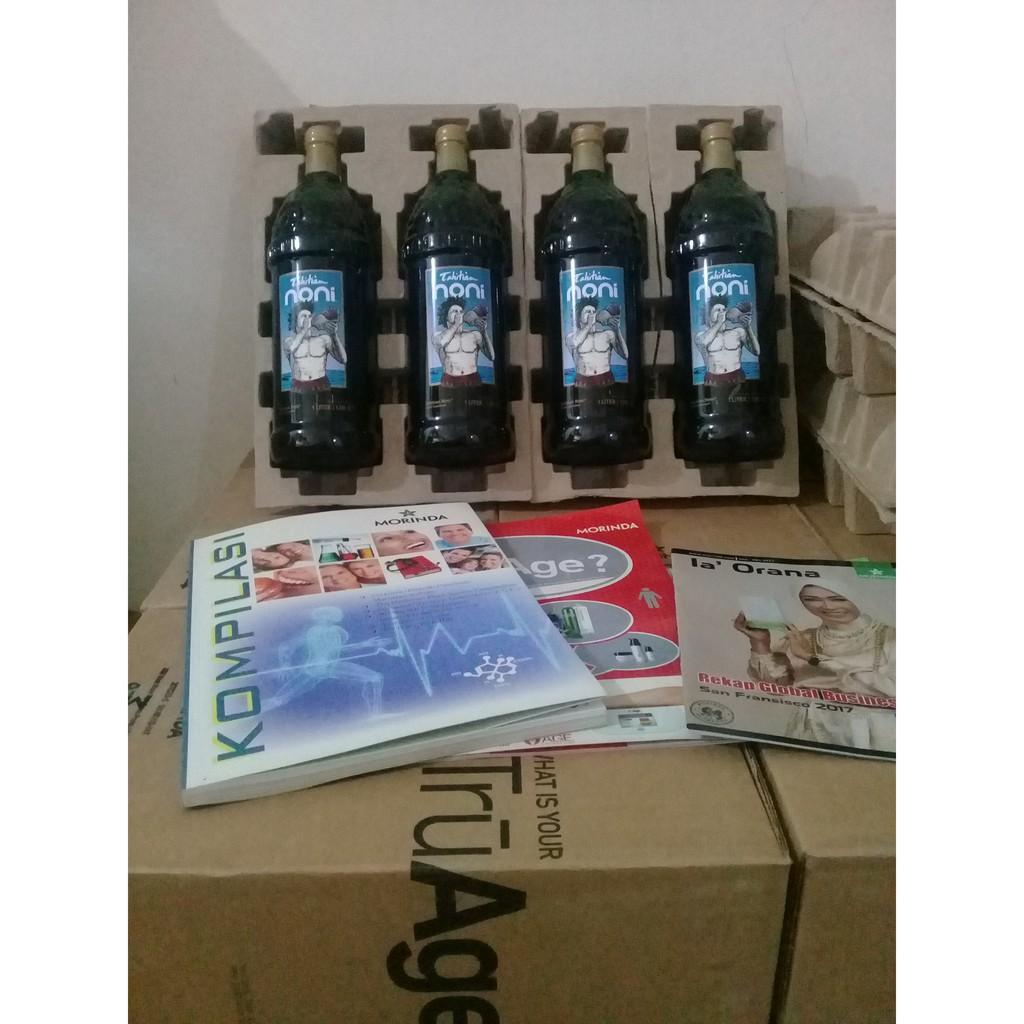 Tahitian Noni Juice 4 Botol Per Kardus Karton Murah Original 1 Shopee Indonesia