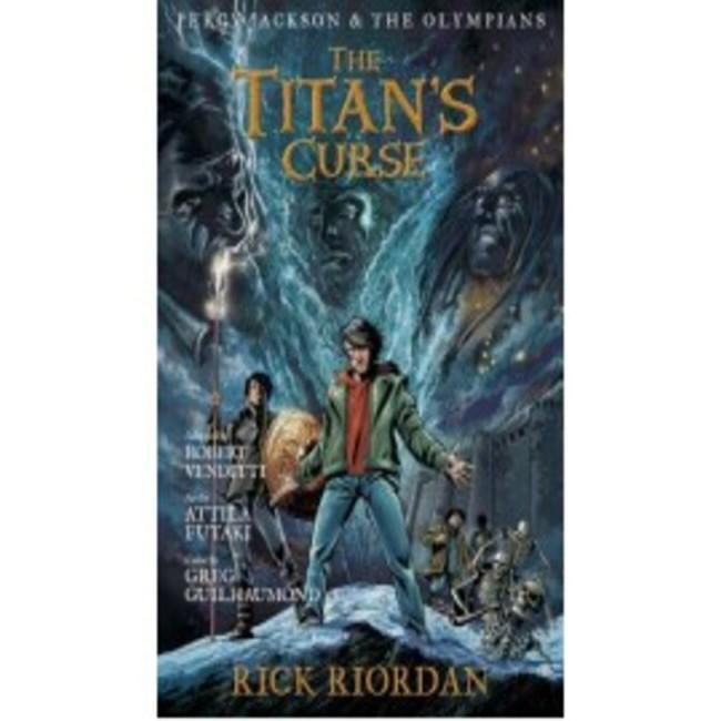 Percy Jackson The Olympians 03 Graphic Novel The Titan S Curse Pb Shopee Indonesia