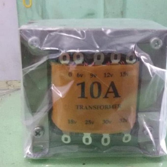 Trafo Standard 10A Amper Kecil 0 - 32V RTRAVO2 Ayo Beli