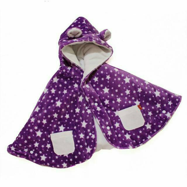 Baby Cape Premium Bibbo Little Star Jaket Selimut Bayi | Shopee Indonesia