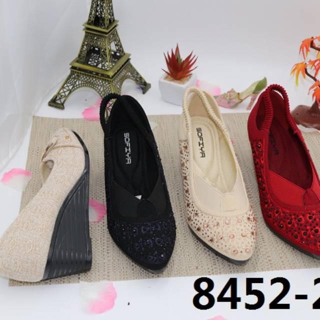 Sepatu Sofiya Wedges Shopee Indonesia