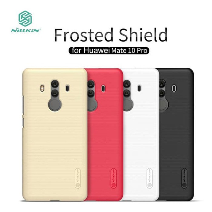 HUAWEI Mate 10 Pro NILLKIN Frosted Hardcase (Free Anti Gores) | Shopee Indonesia