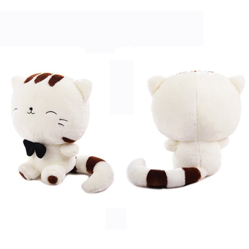 18//28cm Stuffed Toy Animal Soft Simulation Lovely Plush Doll Cute Cat Kawaii Toy