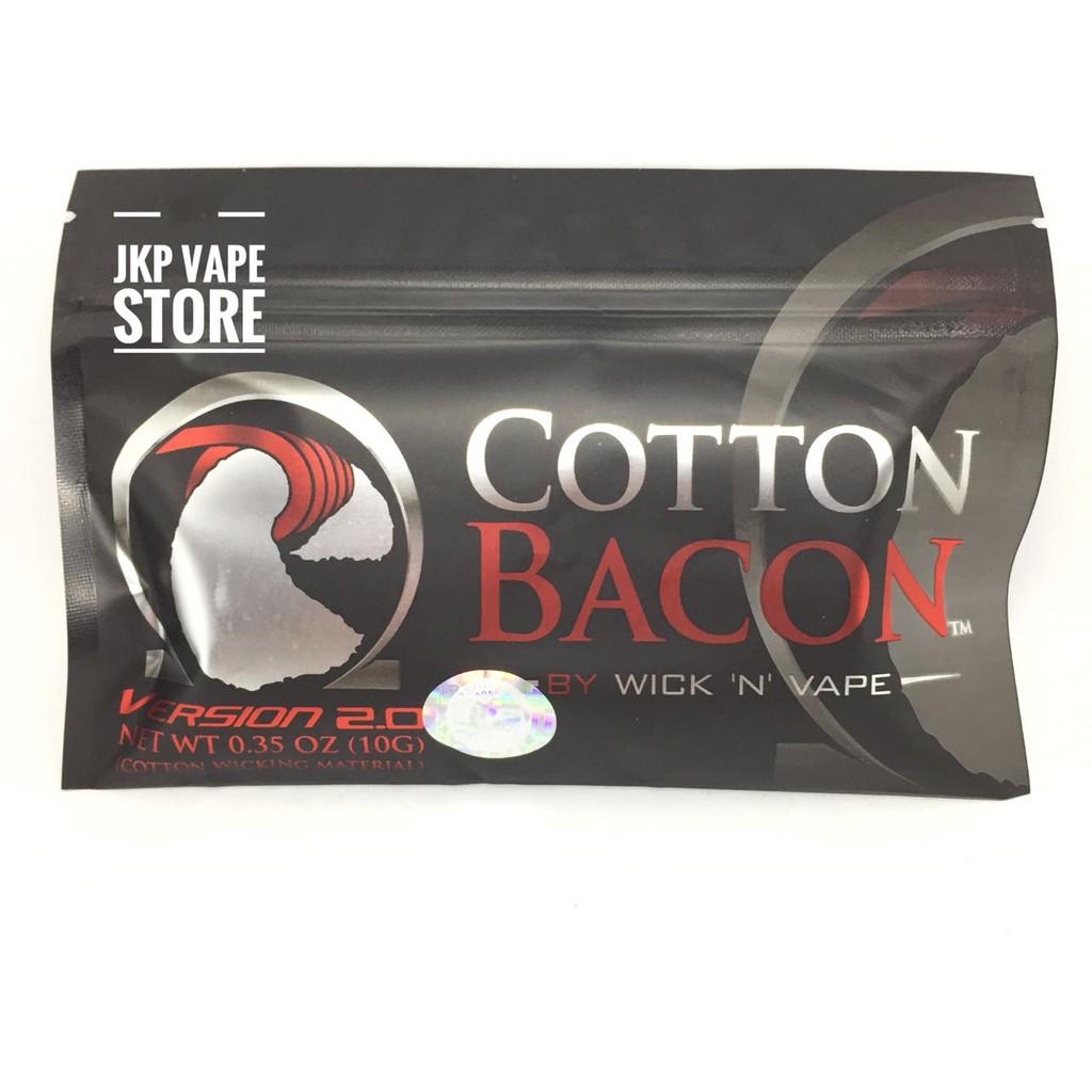 Authentic 100% Cotton Bacon Prime by Wick N Vape Premium Kapas Vapor | Shopee Indonesia
