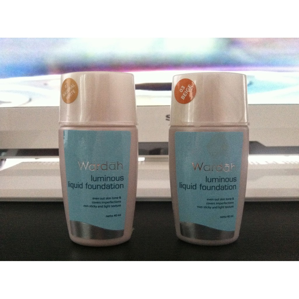 Wardah Luminous Creamy Foundation Light Feel 1 4 Shopee Indonesia Bublewarp Tambahan
