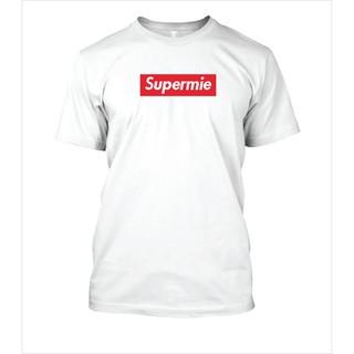 7a092a3a7 Harga Promo !!! Supermie - Kaos Tshirt Logo Parody Supreme - Putih, S |  Shopee Indonesia
