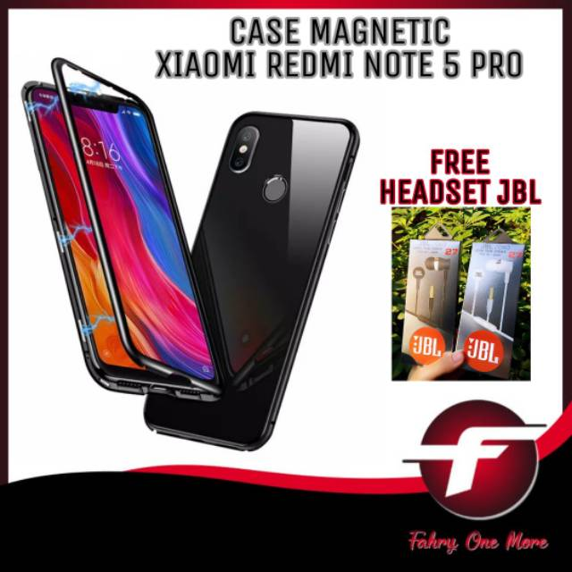 on sale dc6b0 8b484 Case Redmi Note 5 PRO Hardcase Magnetic