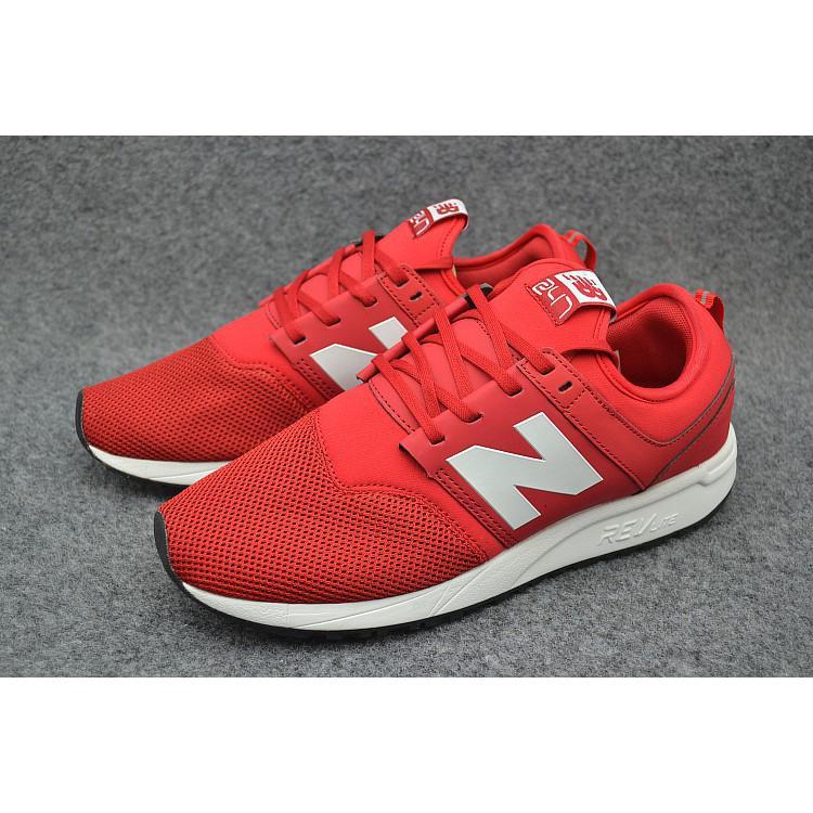 Sepatu Sneakers Desain New Balance 247 NB247 Bahan Mesh Breathable Warna  Merah Ukuran 40-44 1fe59e5fca