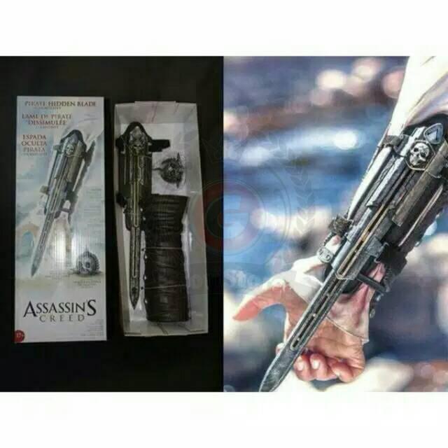 Mainan Senjata Assassins Creed Hidden Blade Shopee Indonesia