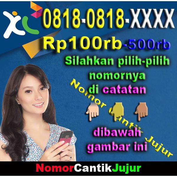 Nomor Cantik XL 0818-0818-XXXX ...