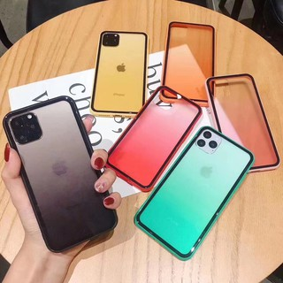 Case Simple Warna Gradasi Untuk Apple Iphone 11 Pro Max