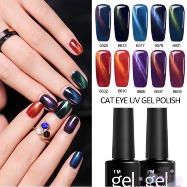 Cat Eye Uv Gel Kutek Gel Bagus I M Gel Kutek Murah Gel Kutek Bagus Magnetic Kutek Shopee Indonesia