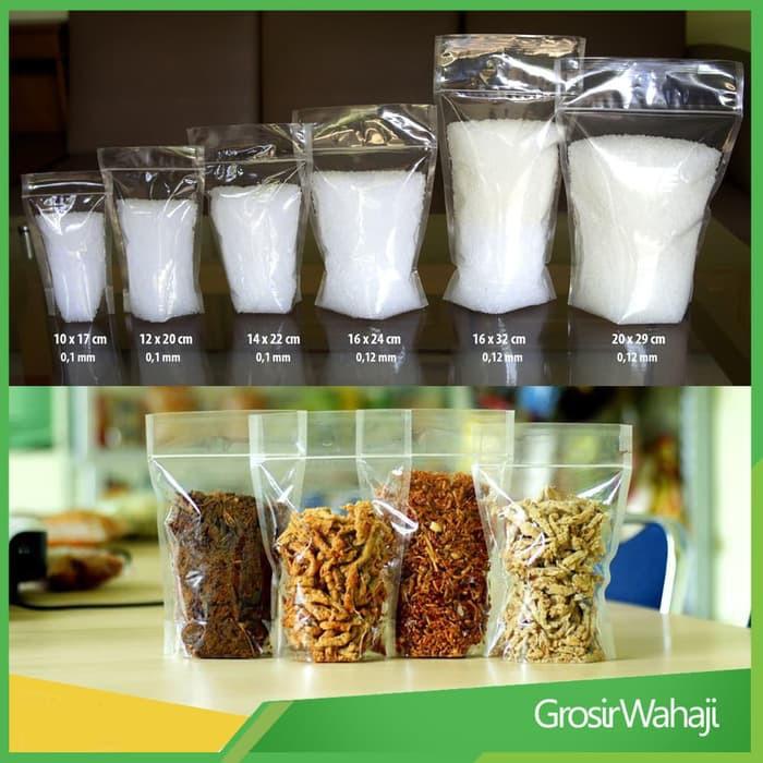 Unik Plastik Kemasan Makanan Ringan 16 X 24 Cm Plastik Keripik