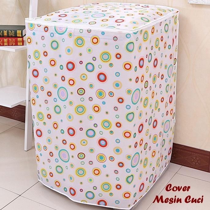 OBRAL Sarung Mesin Cuci Cover 2 Tabung Buka Atas Anti Air Tipe C Term   Shopee