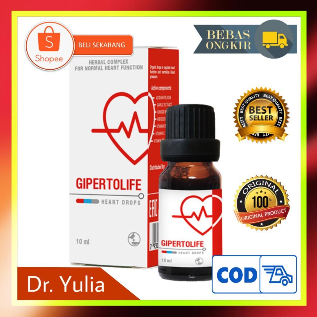 GIPERTOLIFE Asli Original Atasi Hipertensi Strok Dan Serangan Jantung