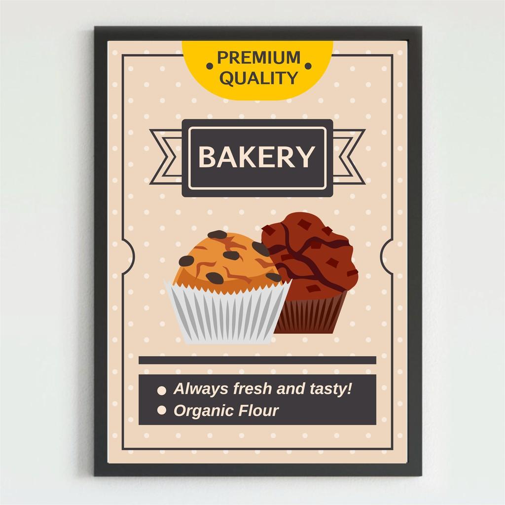 Poster Bakery Poster Makanan Kedai Kue