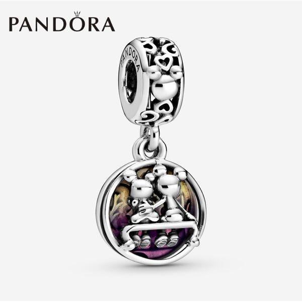 Pandora Charm Disney Mickey Mouse Minnie Mouse Happily Ever After Dangle Charm Diy Bracelet Charm Shopee Indonesia