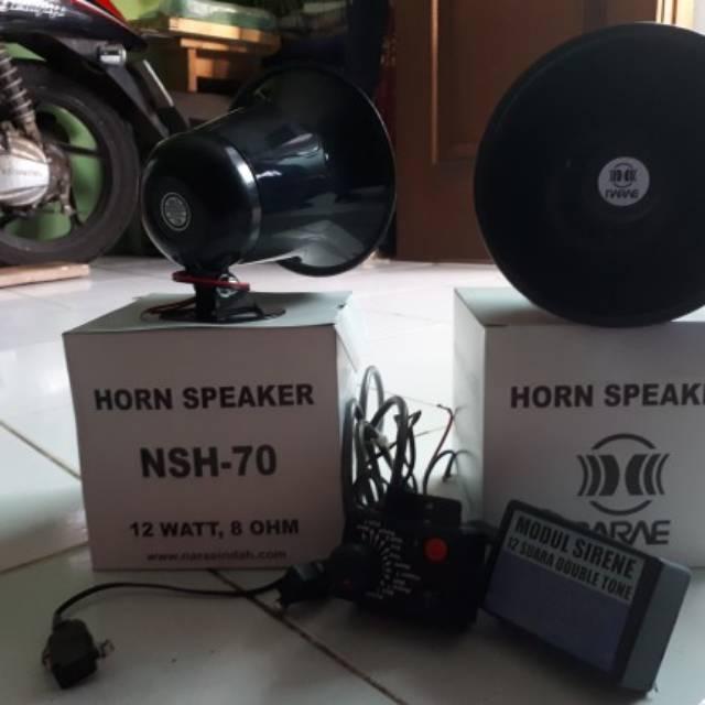 1 Pasang Klakson Sirene Elektrik 12V 120dB 410hz 510hz Universal untuk Mobil | Shopee Indonesia