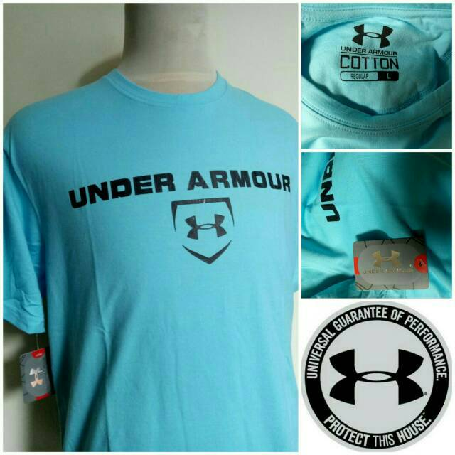 Tshirt Kaos Under Armour - Body fit premium  8b240649ba