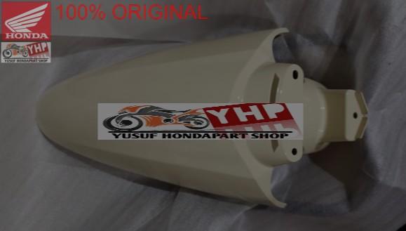 SELEBOR DEPAN CREAM NEW HONDA SCOOPY ESP K2F 61100-K2F-N00ZL ORI AHM