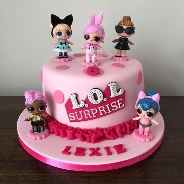 Custom Birthday Cake Karakter Lol Kue Ulang Tahun Tema Lol Anak Cewek Kue Tart Untuk Anak Perempuan Shopee Indonesia