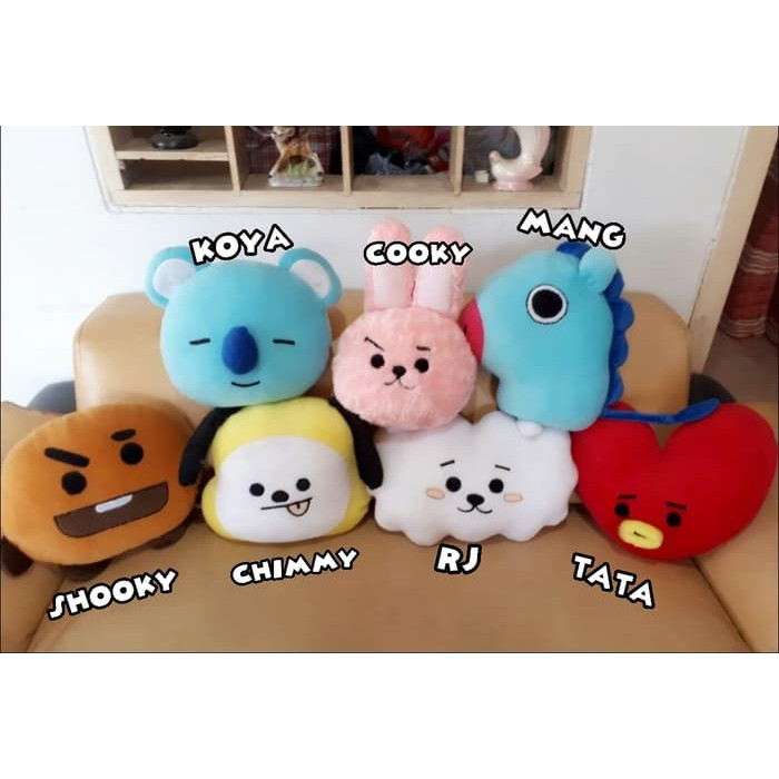 Boneka Bantal Korea Bts Tata V Shopee Indonesia