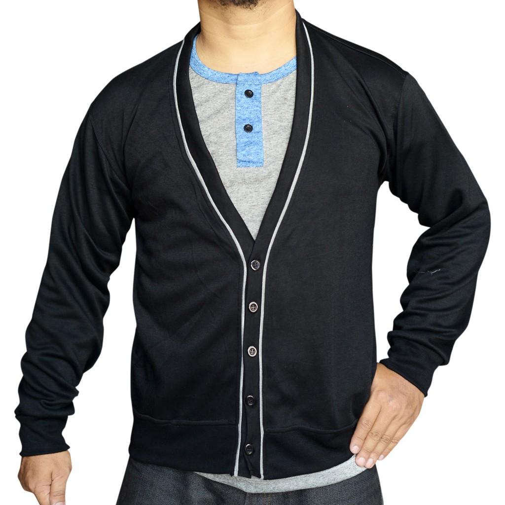 Baju Murah Sweater Rajut Pria Michael Premium Shopee Indonesia Azuma Navy