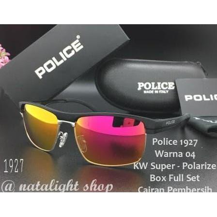 Koleksi Terbaru Kaca Mata Sunglasses Pria Police P1927 Sporty Mewah Elegan  Polarize Murah  c1878007ed