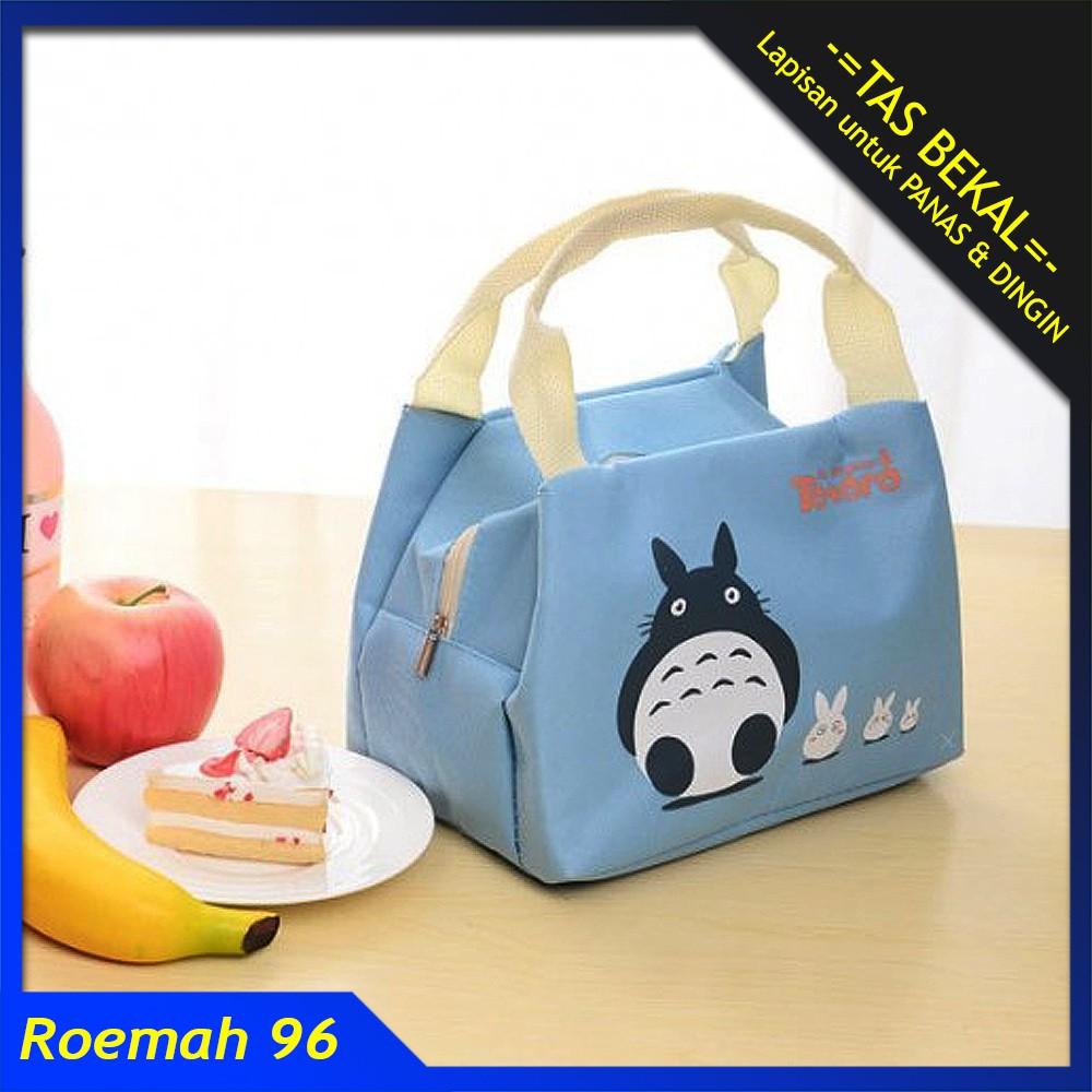 Beli TM004 - Totoro Lunch bag / Cooler bag / Tas Makanan / Tas Bekal Harga Lebih Murah Bersama Teman | Shopee Indonesia