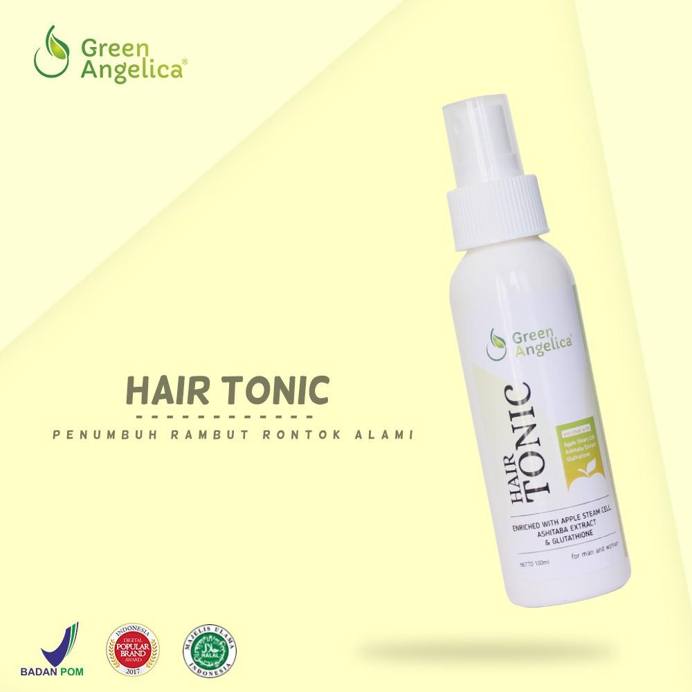 Hair Tonic Penumbuh Rambut Botak Rontok Green Angelica 100 Gratis 1 Tas Cantik Obat Herbal Halal Best Seller Menumbuhkan Shopee Indonesia