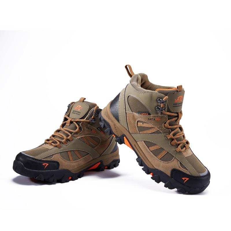 Sepatu SNTA 606 Grey Fuschia TAHAN AIR Boot Cewek Adventure/Hiking/Trekking/ Outdoor Boots | Shopee Indonesia