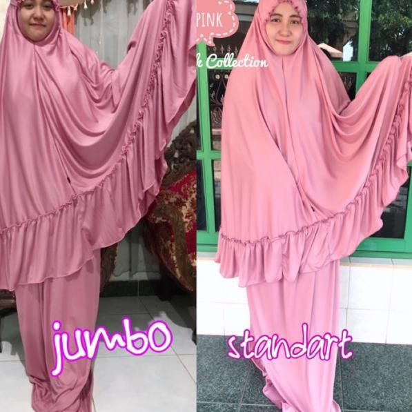 ➾rj Mukenah Size JUMBO (XL) ✻ ©